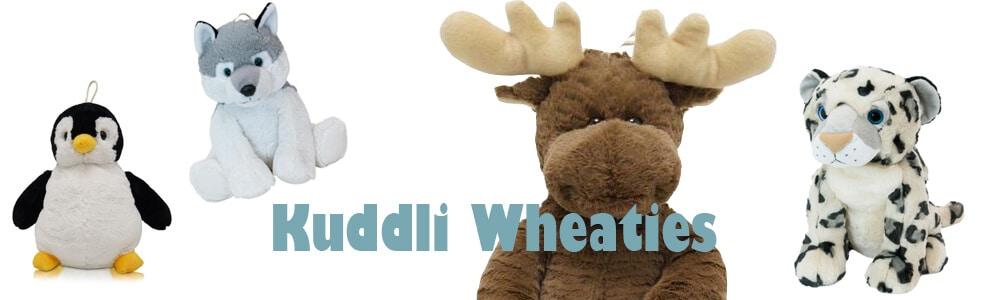 Kuddli wheaties - värmande gosedjur